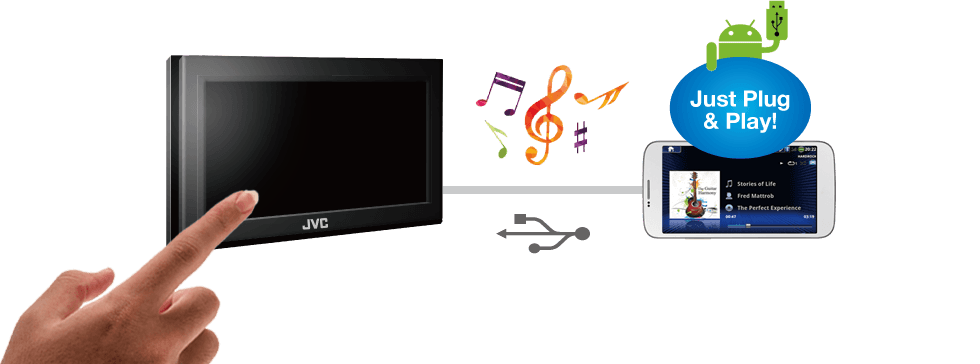 KW-V430BT|Multimedia|JVC USA - Products -